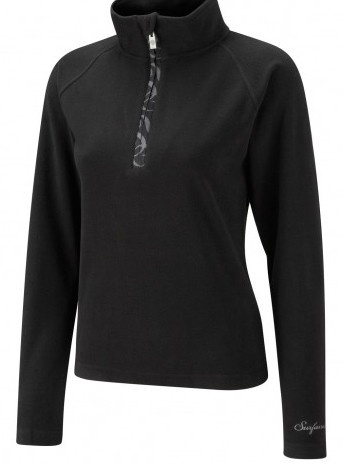 Surfanic Womens Classic Fleece Black