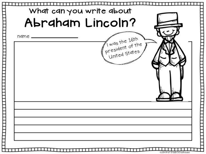 Presidents Day Kindergarten Worksheets For Kids ...