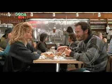 Best scenes from Nora Ephron movies. I'll have what she was having...