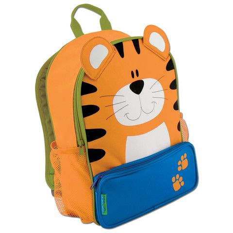 Stephen Joseph Sidekick Backpack (Tiger). Time to get ready for the 2014 school year. This great backpack for kindy and pre-schoolers is available now at www.littlebluelane.com.au