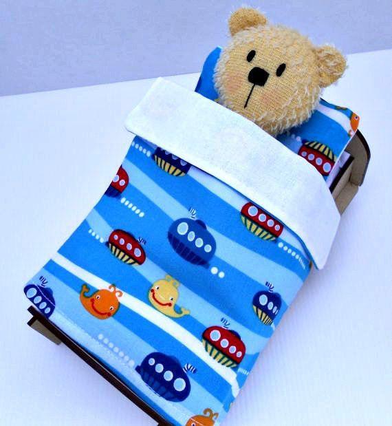 Kitset bed for cute teddy bear or doll