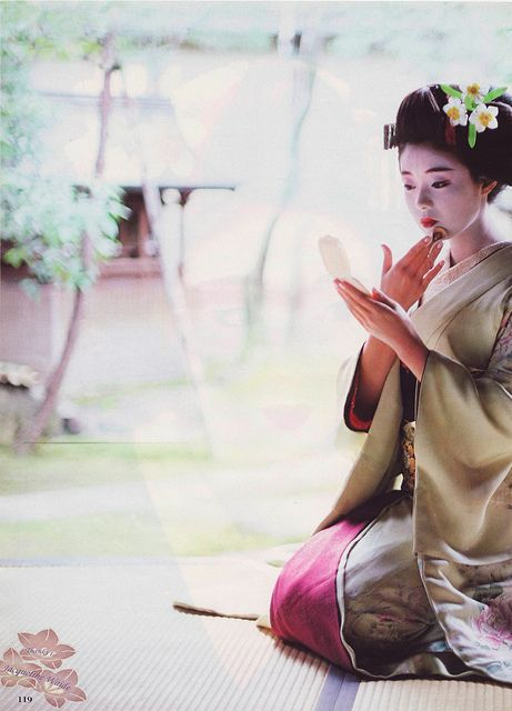 Katsuno as a maiko photos | Flickr - Photo Sharing!