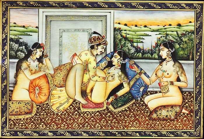 3. Old Kamasutra Painting