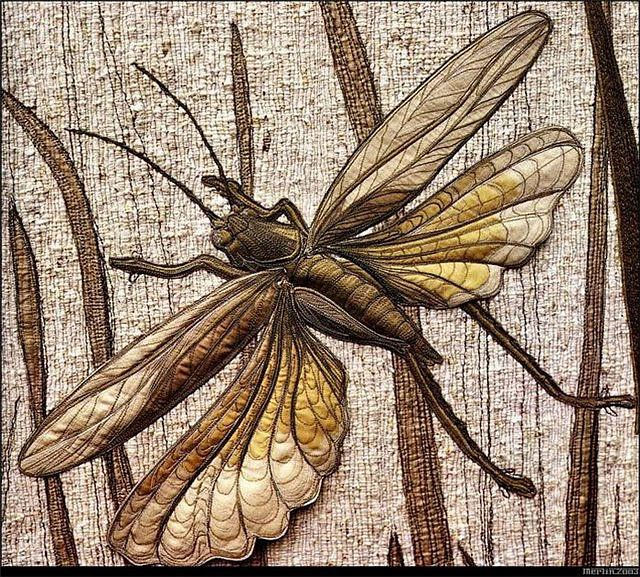 Annemieke Mein.....I am full of wonder and appreciation for her pieces of stitchery.