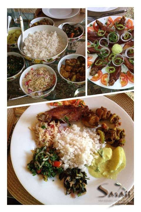Taste of Asia. Organic lunch