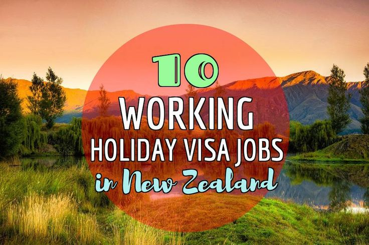 If you're interested in learning what type of working holiday visa jobs in New Zealand are available, this is an excellent resource!