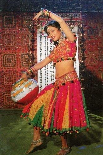 "Madhuri's shot from the movie ""Prem Granth"""