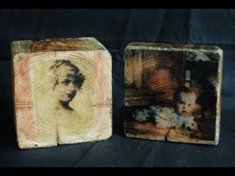 Ideas art for everyone, DIY - Joanna Wajdenfeld: Photo on wood - interesting gift idea