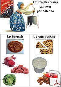 Matriochka - les recettes russes