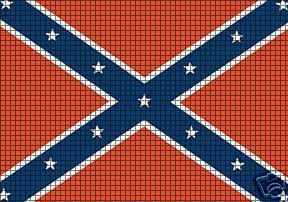 http://www.cuddleup-creations.net/Confederate-Flag-Crochet-Pattern_p_458.html