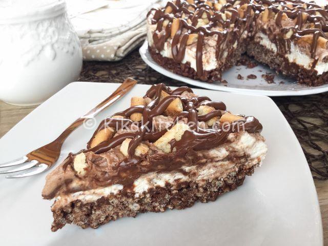 torta senza cottura con nutella
