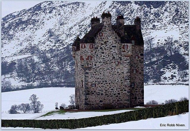 Forter Castle,Kirkton of Glenisla, Perthshire, Scotland  by Eric Robb Niven