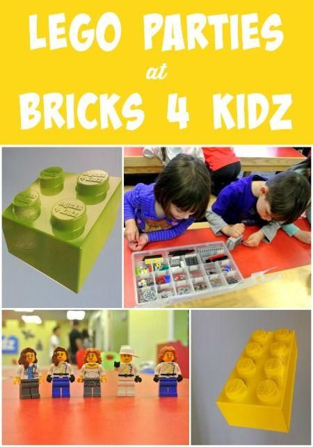 Best Birthdays: Lego Parties at Bricks 4 Kidz
