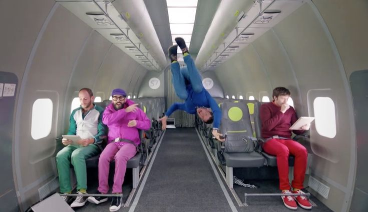 Filmed in one long take, thanks to 20 flights aboard a Russian S7 Airlines parabolic flight, stunt-video aficionados OK Go present Upside Down & Inside Out, all filmed in zero gravity with, as they note, no wires or green screen. Video co-director Trish Sie and OKGo's Damian Kulash explain in this i