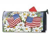 American Daisies MailWrap (Outside Ornaments) (4th of July) by Magnet Works, Ltd.. $20.80. Screen-printed for vivid color reproduction and exceptional durability. Made in USA.