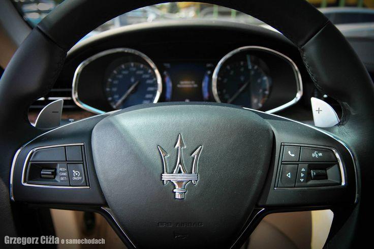 Kierownica Quattroporte