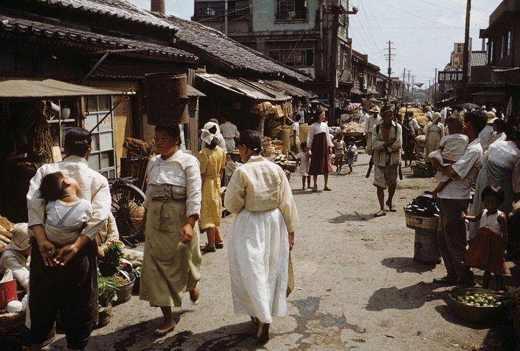 그때 그 시절 - 부산(1952)