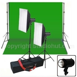 Need a complete lighting kit at an affordable price. Check out our 600W Softbox Strobe Light Kit which comes complete with a Carry Case, Background Stand and 10'x20' Chromakey Muslin Backdrop.  This Softbox Strobe Light Kit is a great kit to use for any photography or video lighting needs that requires a reliable source of quality lighting equipment.http://bit.ly/1613SXs