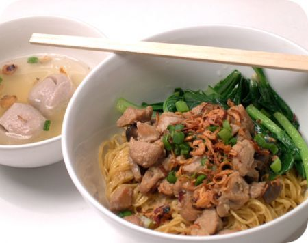 Mie Ayam Bakso, Indonesian Breakfast Noodle