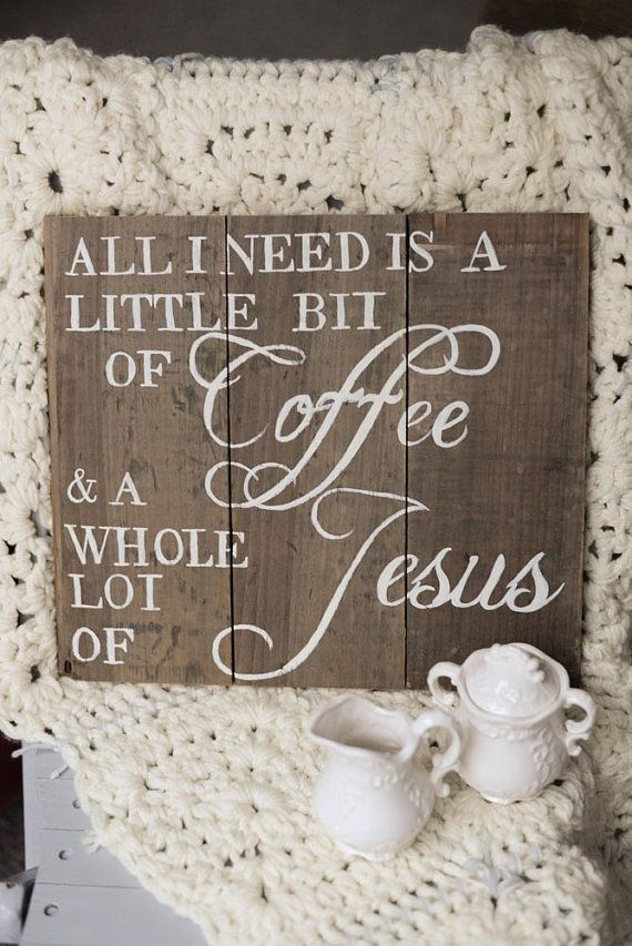 All I need is a little bit of coffee and a whole lot by PrettyPene, $27.00