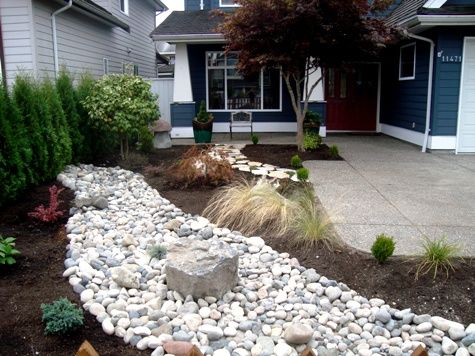20 best images about river rocks landscaping on pinterest for Landscaping rocks vancouver