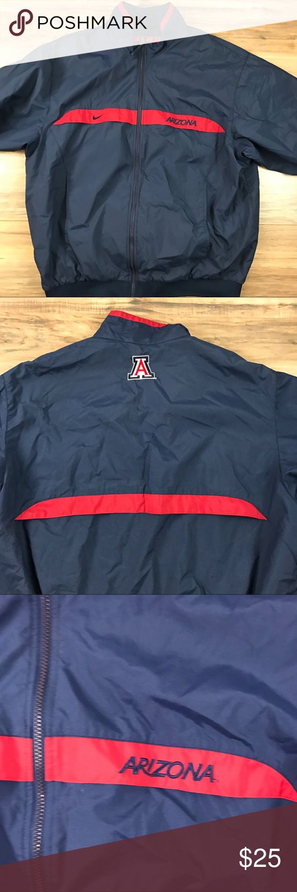 Arizona Wildcats Baseball Jacket Size XL. Nike no flaws Nike Jackets & Coats Windbreakers