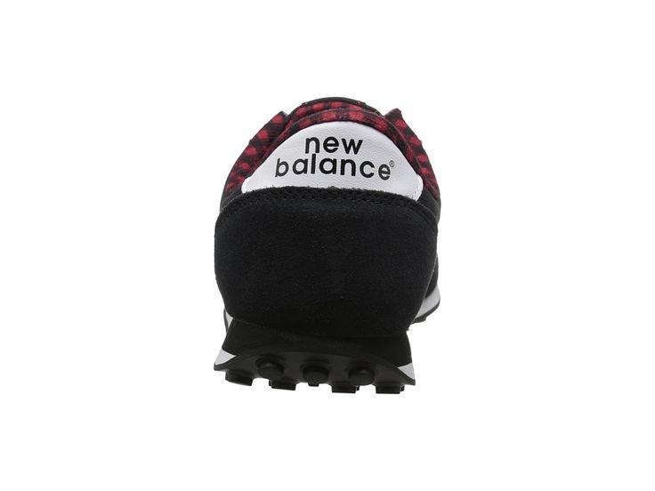 New Balance Classics WL410 Women's Classic Shoes Black Suede/Textile