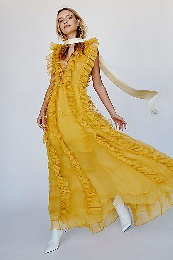 fc35d071d345 Ambra Layered Ruffle Maxi Dress | Lets celebrate! | Dresses, Formal ...