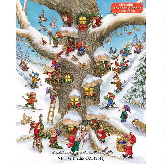 Elf Magic Chocolate Advent Calendar $3.99