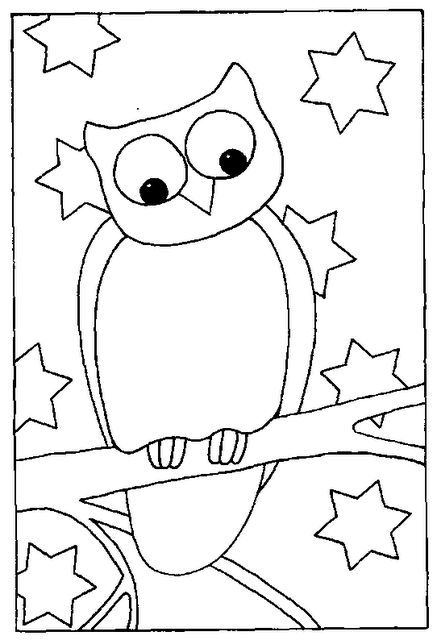Owl Drawings Of The Birds Barn Owls Animals Envelopes