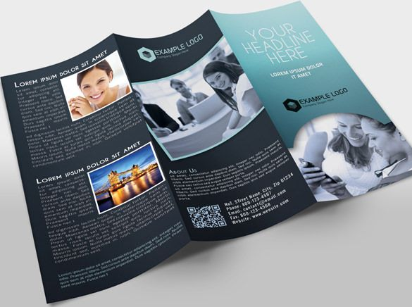 24 best 3 fold brochure images on Pinterest Brochures, Triptych - folded brochure