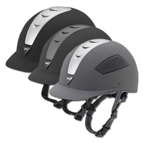 The IRH® Elite Riding Helmet is the perfect schooling helmet or show helmet. Low-profile design to flatter your head shape with venting to allow for air flow and comfort.