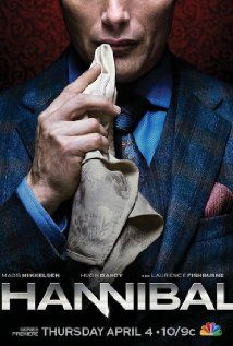 Hannibal (season 1, 2013) - now on Belgian TV (summer 2014). With an amazing Mads Mikkelsen