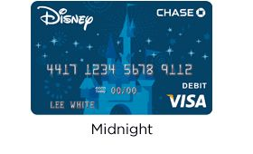 Disney debit cards.  They come with great perks and fun designs!