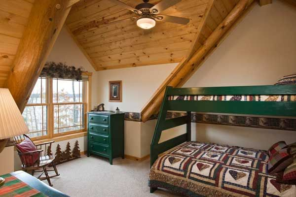 The Green Bunk Bed And Matching Chests Of Drawers Iron