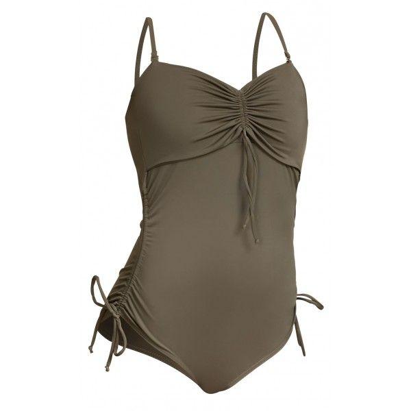 Boob Nursing Swimsuit - Safari **SIZE L & XL**