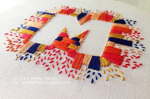 Summer Bloggin' - Stitching space with daisyeyes