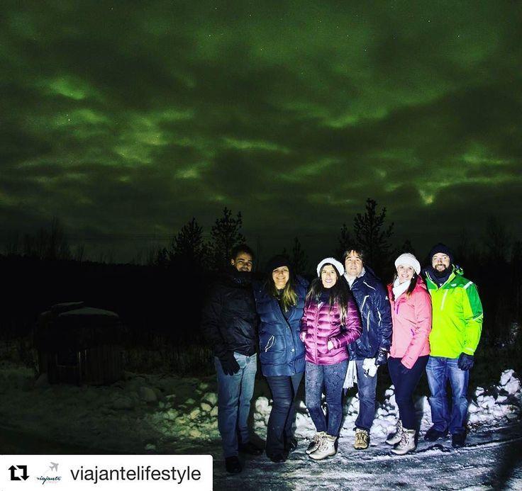 Use #letsflyawaybr e apareça no nosso feed! Obrigada @viajantelifestyle por compartilhar essa imagem! Quem tem vontade de ver a aurora boreal levanta a mão? Que aventura incrível! --------- Use #letsflyawaybr and show up in our feed! Thank you  @ viajerolifestyle for sharing this picture! Who wants to see the aurora borealis raise the hand? What an incredible adventure! ---------- #repost #articcircle #laponia #auroraborealis #auroraboreal #viagem #trip #travel #viaje #instatravel…