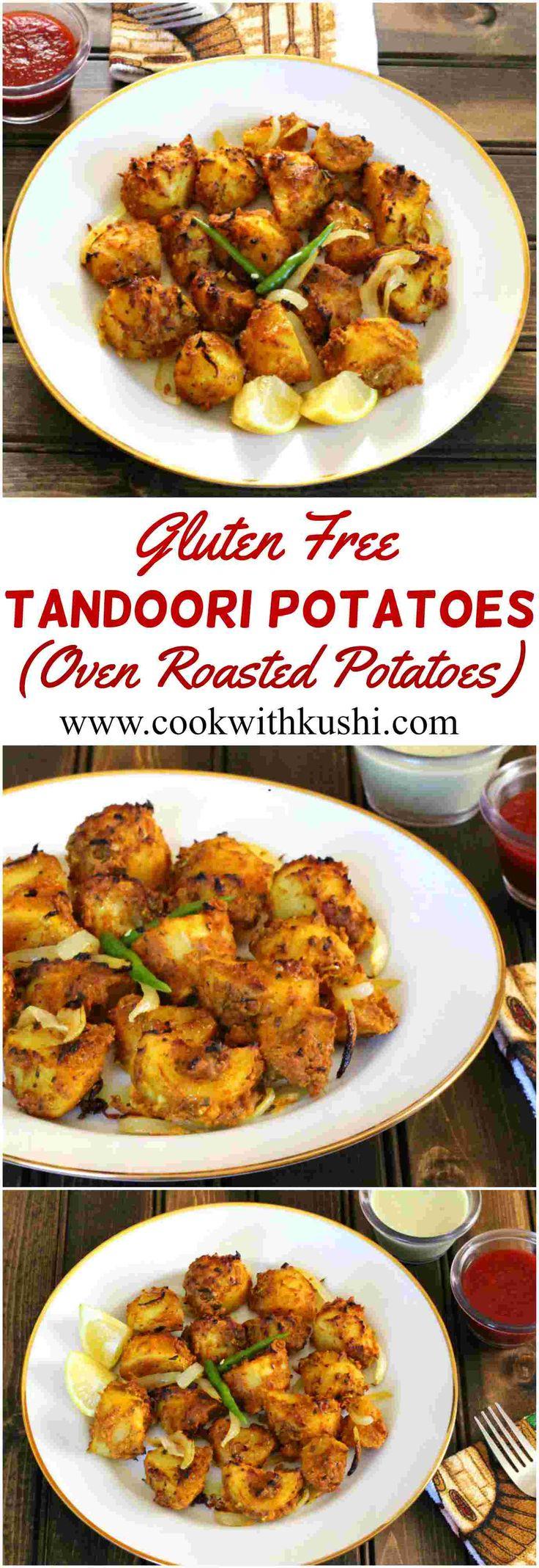 Tandoori Potatoes