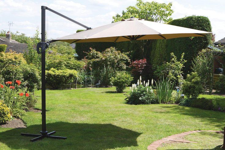 Best Large Patio Umbrellas with Pictures - http://home.blushblubar.com/best-large-patio-umbrellas-with-pictures/ : #ExteriorIdeas Large patio umbrellas are available in best designs to choose from in accordance with your preferences and requirement in preserving fine space for relaxation at high valued. There are different manufacturers available when it comes to large patio umbrella such as Costco, Clearance, Sams Club...
