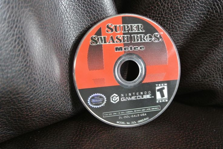 Super Smash Bros. Melee for Gamecube or Wii Works Great DISC ONLY