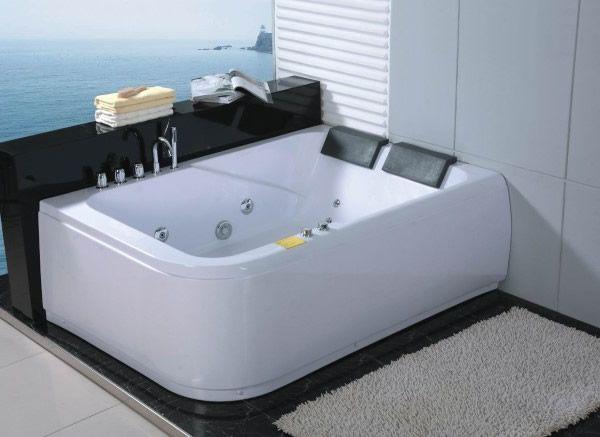 Ber ideen zu baignoire baln o auf pinterest baignoire balneo gite rural und baignoire - Winkel balkon leroy merlin ...