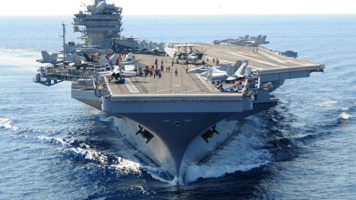 Στη ναυτική βάση της Σούδας κατέπλευσε το πρωί το το πυρηνοκίνητο αεροπλανοφόρο των ΗΠΑ «USS George H.W. Bush».