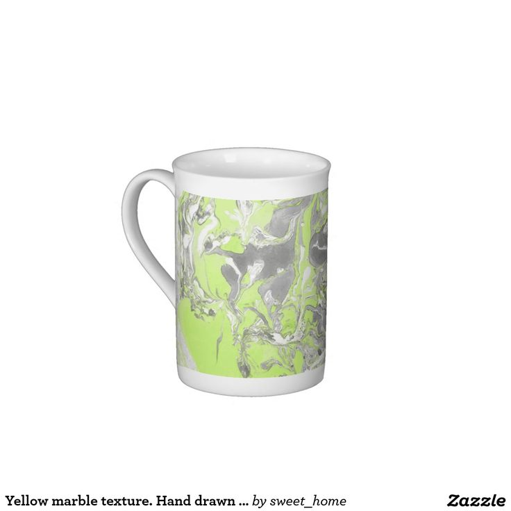 Yellow marble texture. Hand drawn artwork Tea Cup  #Homedecor #Room #accessories #Interior #decorating #Idea #Styles #Home #stonetexture #paint #abstract