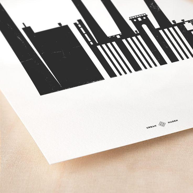 H.C. Ørstedsværket Giclée Poster www.urbanhagen.dk #ArtPrints #Posters