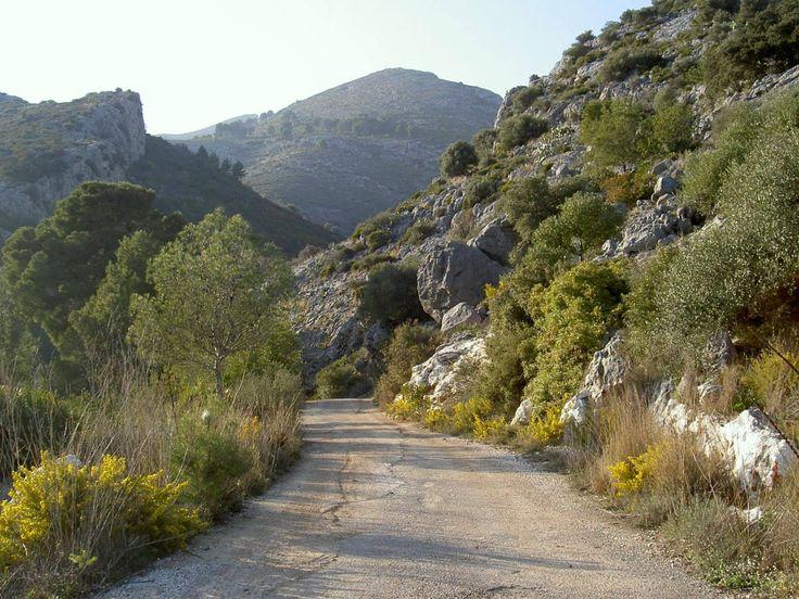 Cami rural, Tormos, Marina Alta
