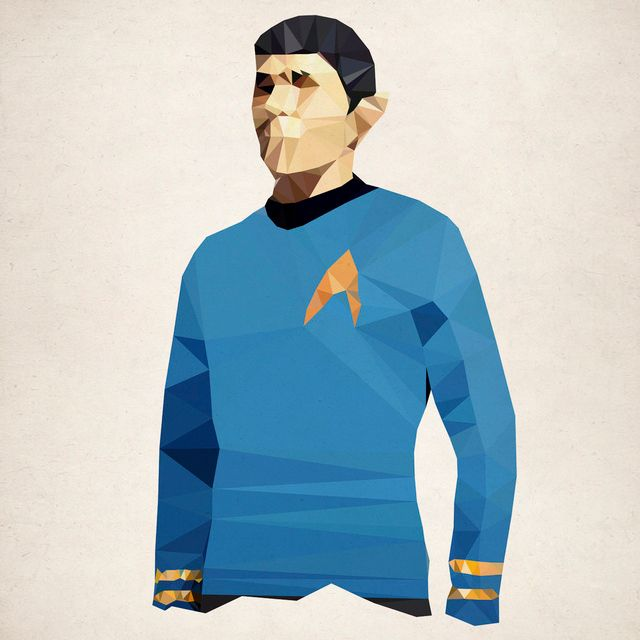 Polygon Heroes - Spock
