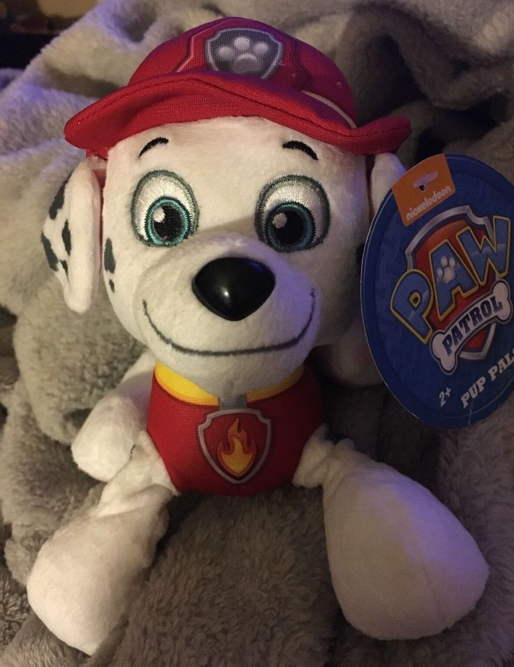 NICKELODEON Paw Patrol MARSHALL Pup Pals PLUSH NWT Stuffed Animal