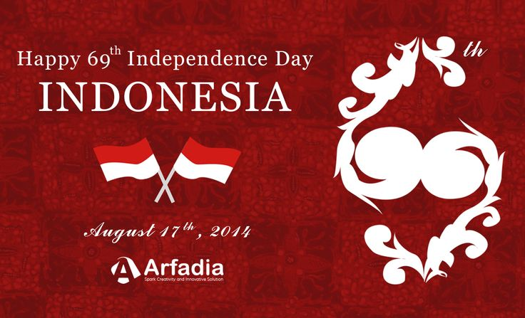 Dirgahayu Republik Indonesia ke-69 #HBDIndonesia #HDB #DirgahayuRI69 #IndependenceDay #Indonesia