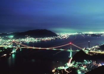 関門海峡(夜景)